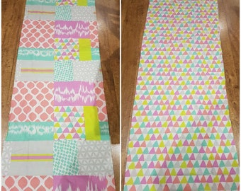 Pillow Bed Cover Geometric