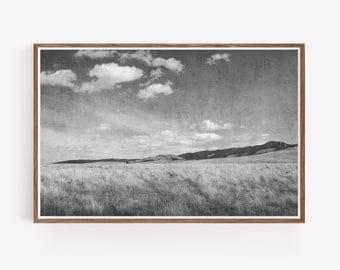 Black and White Instant Download Landscape