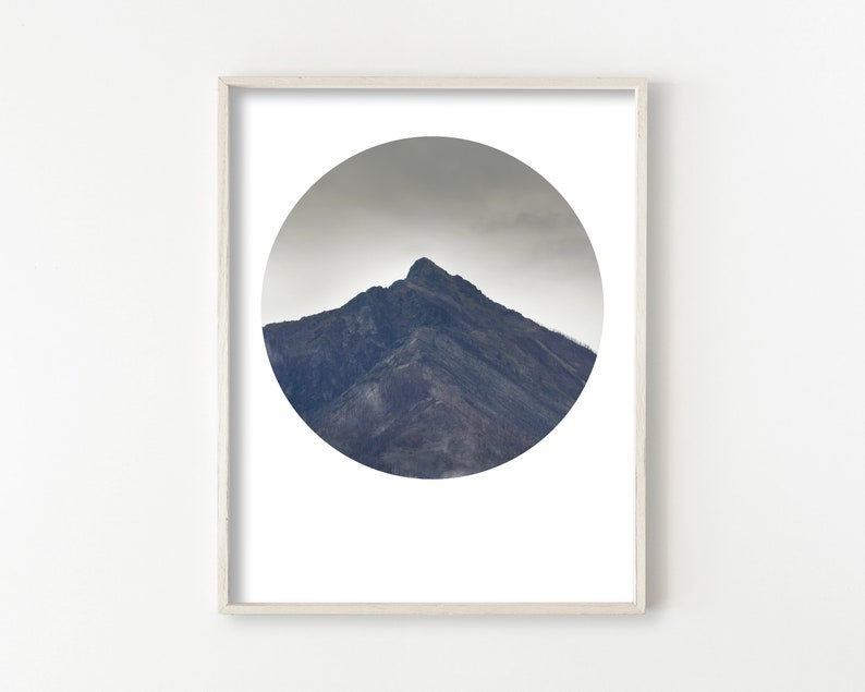 Instant Download Mountain Art image 1