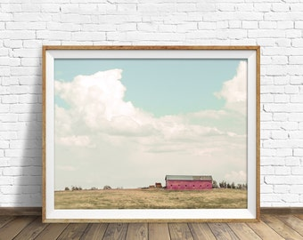 "landscape photography, instant download, printable art, large art, large wall art, printable wall art, rustic art, art - ""Country Living"""
