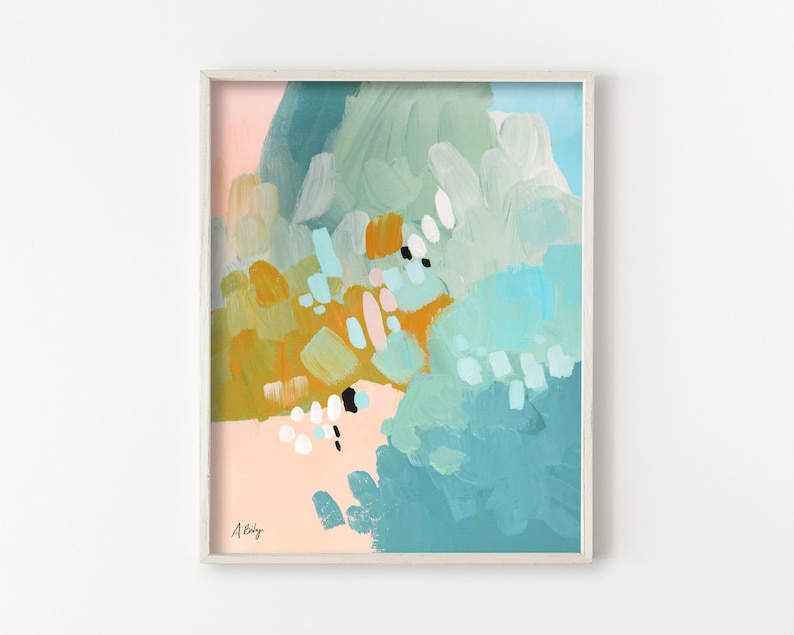 Colorful Abstract Wall Art image 0
