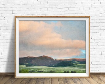 "photography, landscape, instant download art, printable art, photography, instant download, farmhouse chic, nature, art - ""Springtime Skies"""