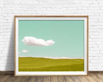 """landscape photography, landscape, instant download printable art, digital download, large art, large wall art, prints - """"Floating Along"""""""