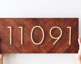 Address Plaque | Number Sign | Address Numbers | Address Sign | Beach Cottage Decor | Beach Cottage Sign | House Number Plaque |