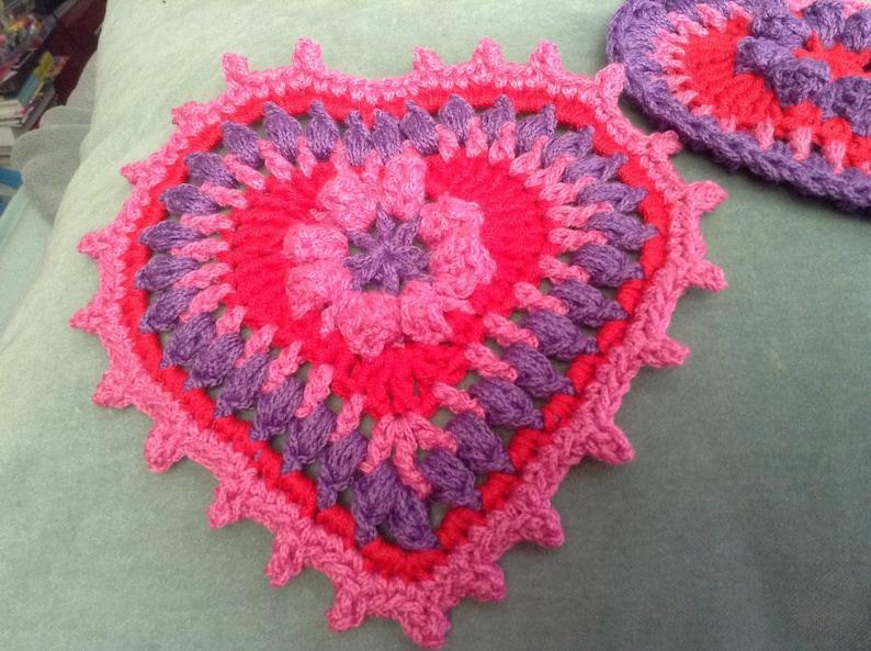 Heart applique pattern etsy