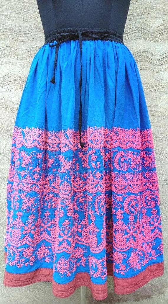 Skirt Skirt Hand Stytle Gypsy Embroidery Modified Women Vintage Ethnic Tribal Rabari Bohemian GD Banjara 128 Antique Vibes Clothing gvqXFI