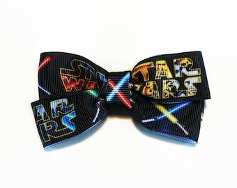 Star Wars Lightsaber Pin Badge/Hair Bow