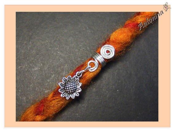 Dread cuffs Dreadlock Perlen Dread Pearls Handmade Rastaperlen trendy