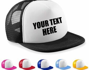 Personalizzato stampato personalizzato mezza maglia Baseball Trucker Cap Cappelli  Cappello Hen Party 97b754dc5a45