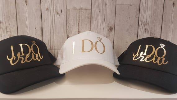 I Do & I Do Crew, Bride To Be Hen Night Do Snapback Baseball Trucker Cap Hat