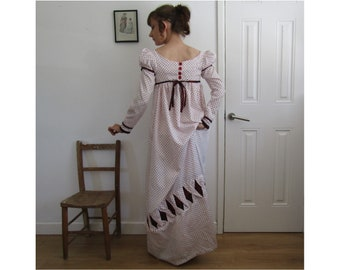 bf8ddfa317 Ready to Ship Regency Dress Jane Austen Festival Size 6 8 Small