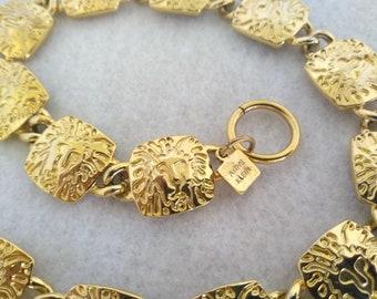 c2545c047e4 Vintage Anne Klein Link Choker Necklace