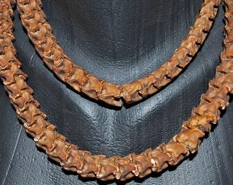 Authentic Vintage African Snake Vertebrae