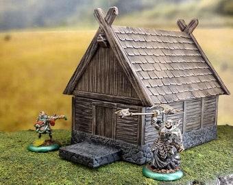 Viking Longhouse Etsy