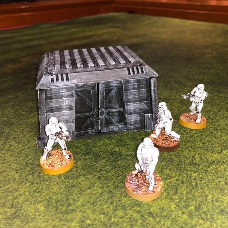Imperial Bunker Small 28mm 32mm  Great for Star Wars Legion image 0
