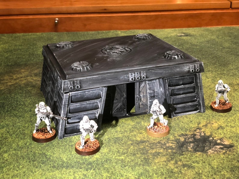 Imperial Bunker for Star Wars Legion Infinity Warhammer 40k image 0