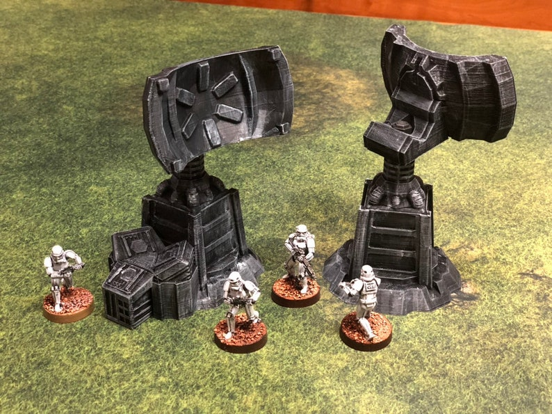 Communication Relay Tower 28mm 32mm  2 per order  Star Wars image 0