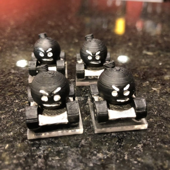 Gaslands RC Car Bomb Miniatures with Bases - HO Scale - Set of 4 - Goofy  Looking - Great Car Combat Game