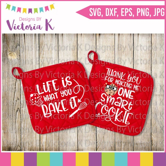 Pot Holder Svg: Mini Pot Holder Bundle Cookies Svg Baking Svg Teacher Gift