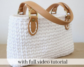 Crochet Bag Pattern Etsy