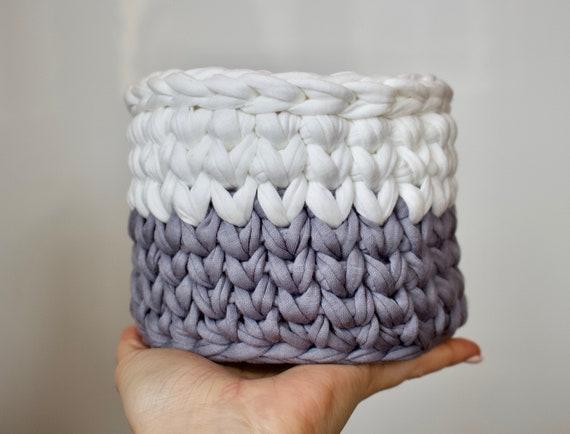 Free Crochet Tutorial Crochet Basket Pattern Storage Etsy