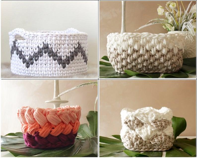 Crochet Pattern Crocheting Home Decor