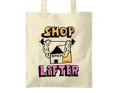 Shoplifter tote bag