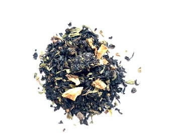 Organic Loose Leaf Tea: Ruby Beach, Handcrafted in Small Batches