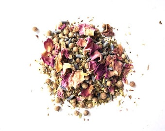 Organic Loose Leaf Tea: Oak Harbor Green Iced Blend, Handcrafted in small batches