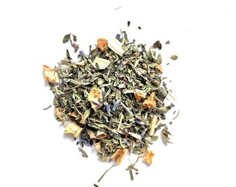 Organic Loose Leaf Tea: Boardwalk Zinger Iced Blend, Handcrafted in Small Batches