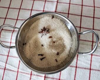 Chai Spice Infused artisan cane sugar