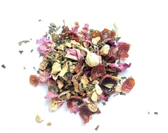 Organic Loose Leaf Tea Beach Beautiful, Handcrafted in Small Batches