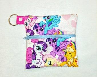 My little Pony Keychain Change purse