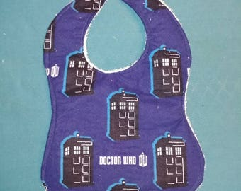 Doctor who baby bib