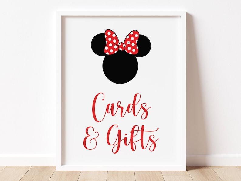 girl mouse printable birthday sign polka dots girl birthday cards and gifts sign  mouse birthday red