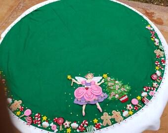 2.- Christmas Tree Skirt