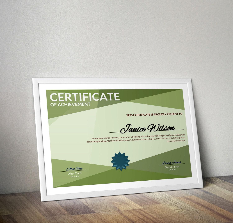 Mehrzweck-Zertifikat Word Vorlage DIY-Zertifikat-Vorlage
