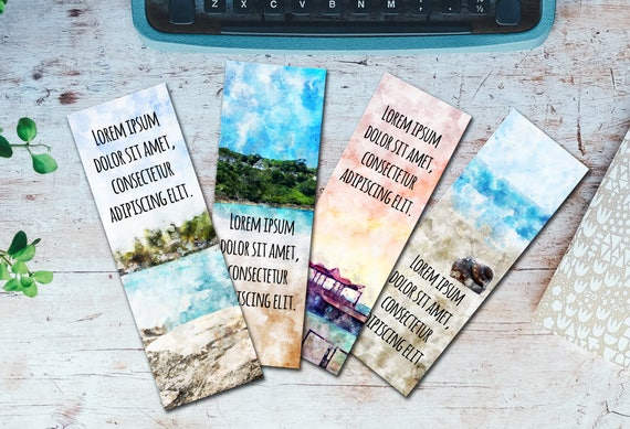 Ms Word Bookmark Template
