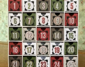 Small Button Advent Calendar