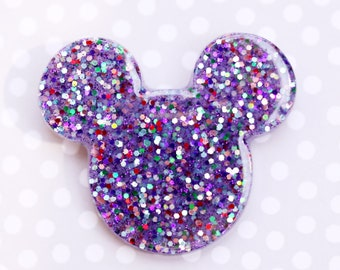 Party Time Purple Mickey Brooch