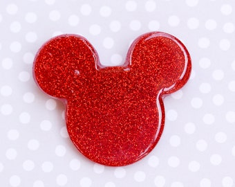 Mickey Mouse Brooch - Red Mickey Brooch