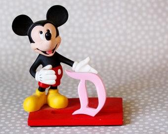 Pastel Pink Disney D Brooch
