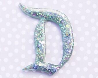Mermaid Disney D Brooch