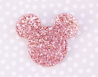 Mouse Brooch - Rose Gold Mickey Brooch