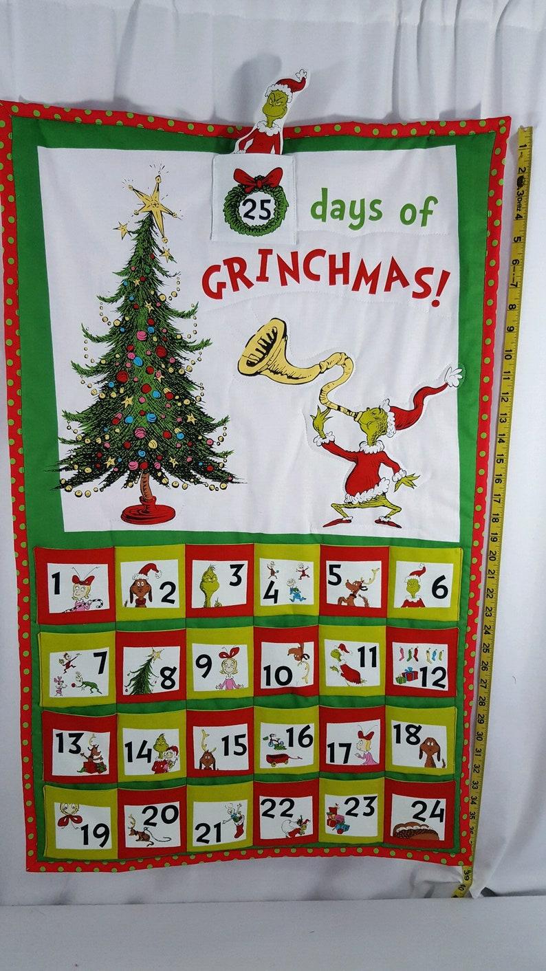 Dr Seuss Merry Grinchmas Christmas Advent Calendar Festive image 4