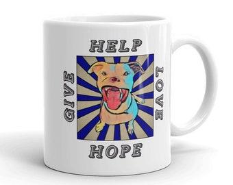 Apollo Give Love Help Hope White Ceramic Mug