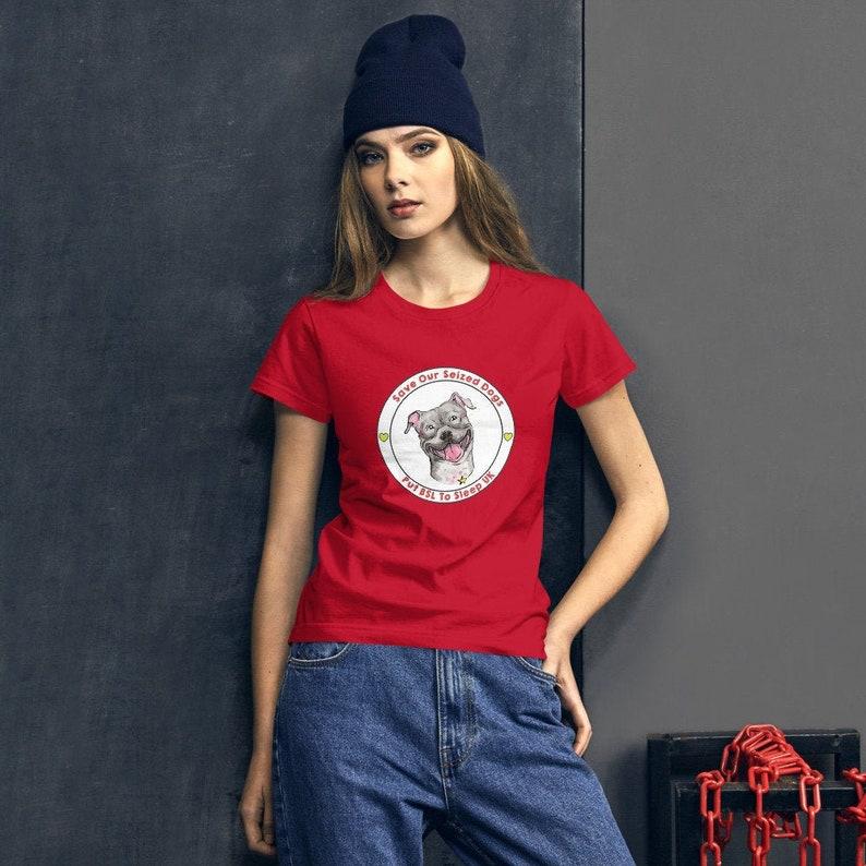 Putting BSL To Sleep Women's Short Sleeve T-shirt Red