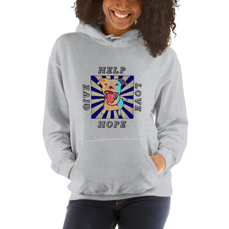 Apollo Give Love Help Hope Hooded Sweatshirt image 0