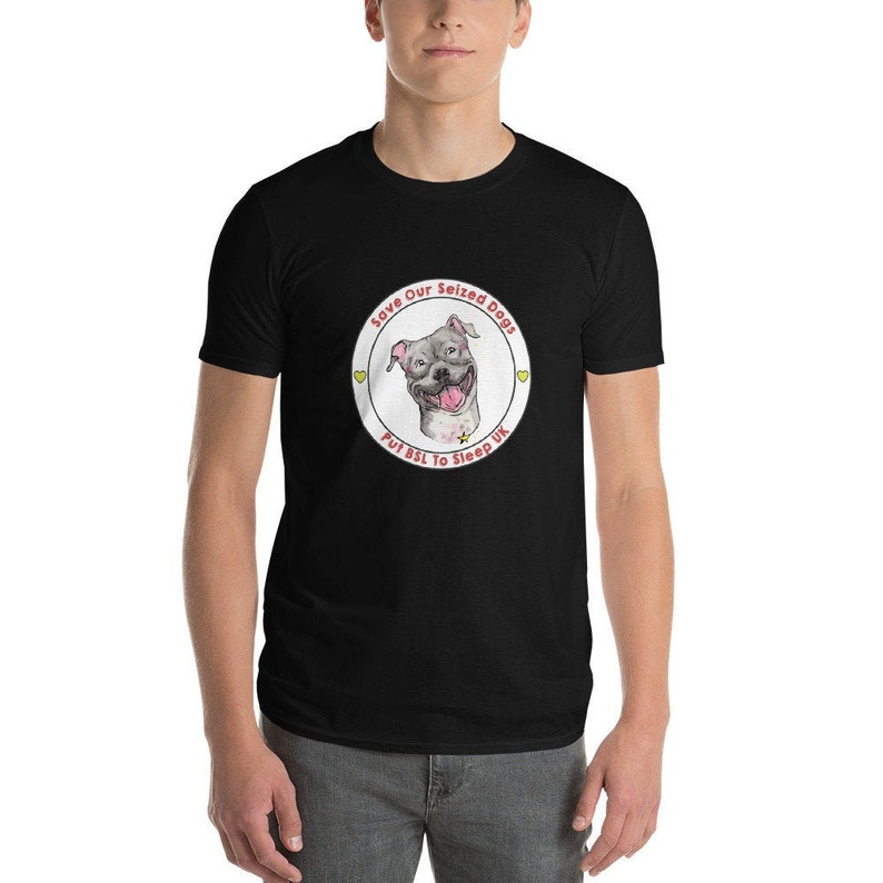 Putting BSL To Sleep Logo Short-Sleeve T-Shirt Black