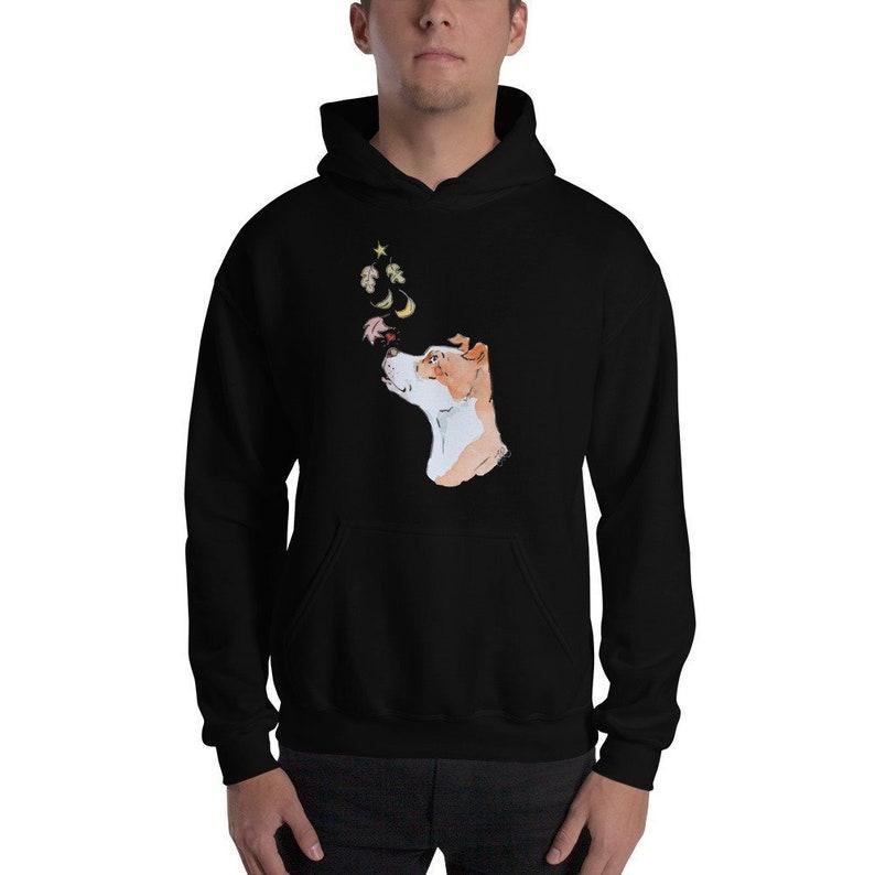 Fall For A Bully Hooded Sweatshirt Black